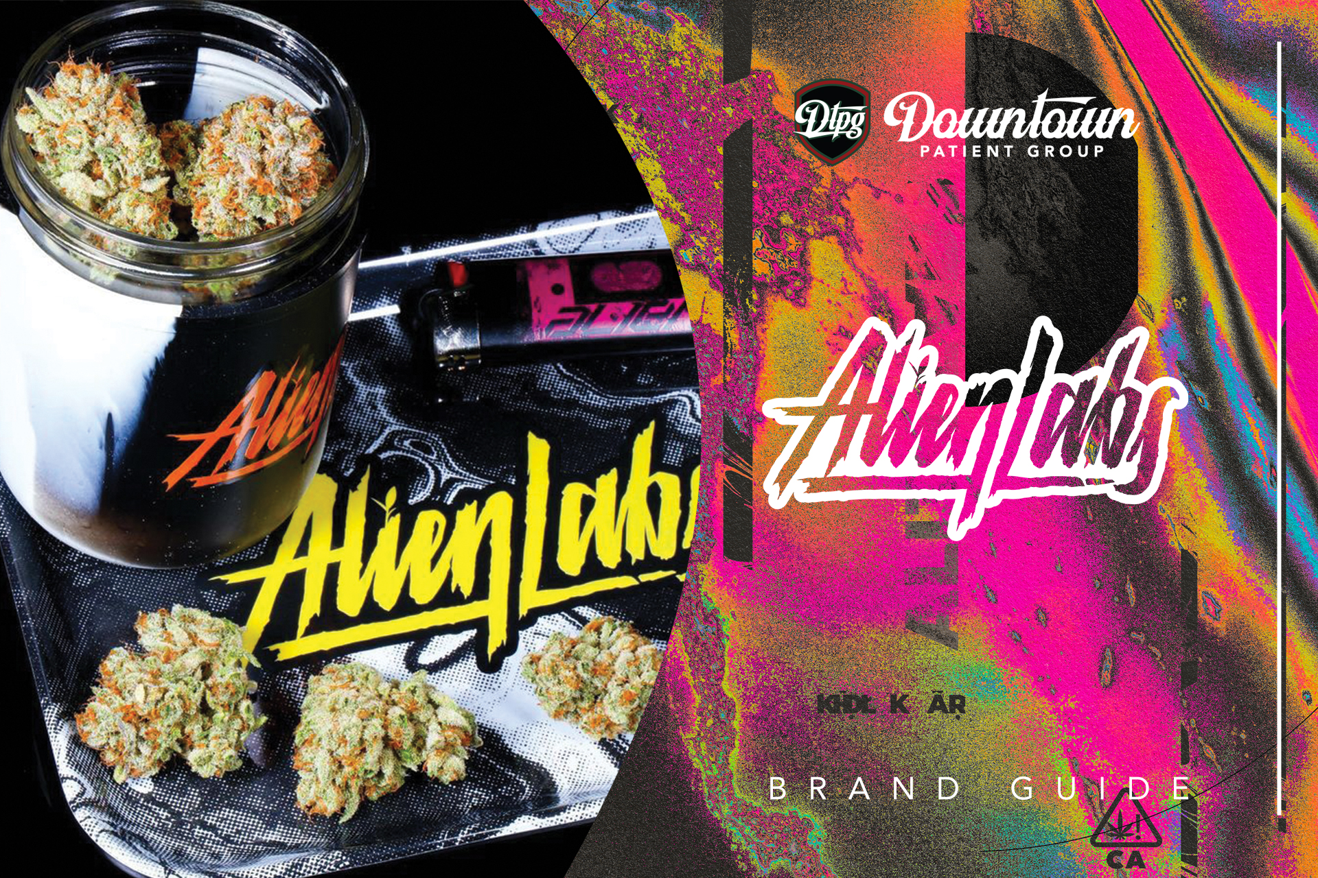 Alien Labs Brand Guide: Top-Shelf Exotic Flower, Pre-Rolls, and Dabs At DTPG