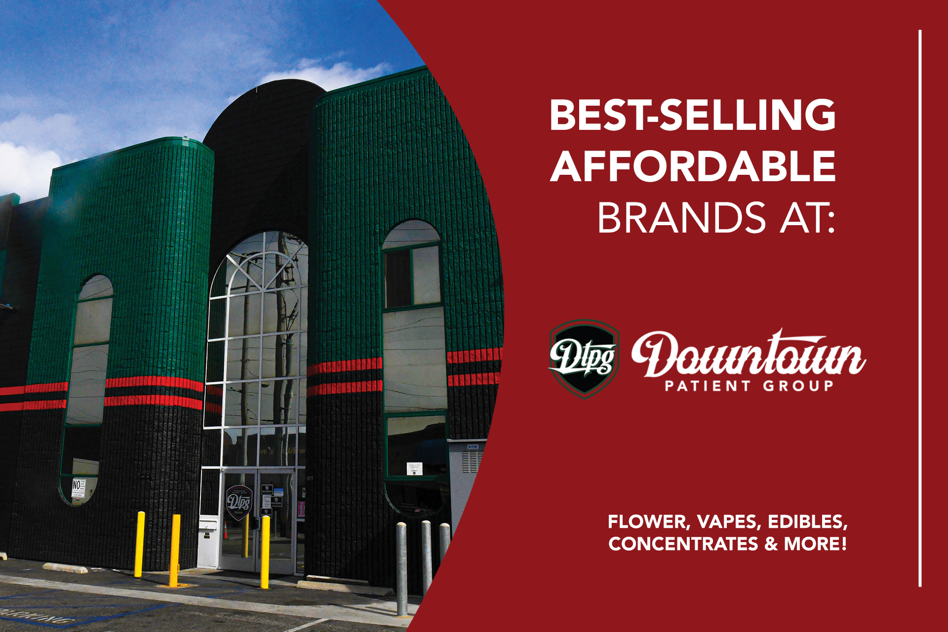 Guide To The Best-Selling Affordable Cannabis Brands At DTPG